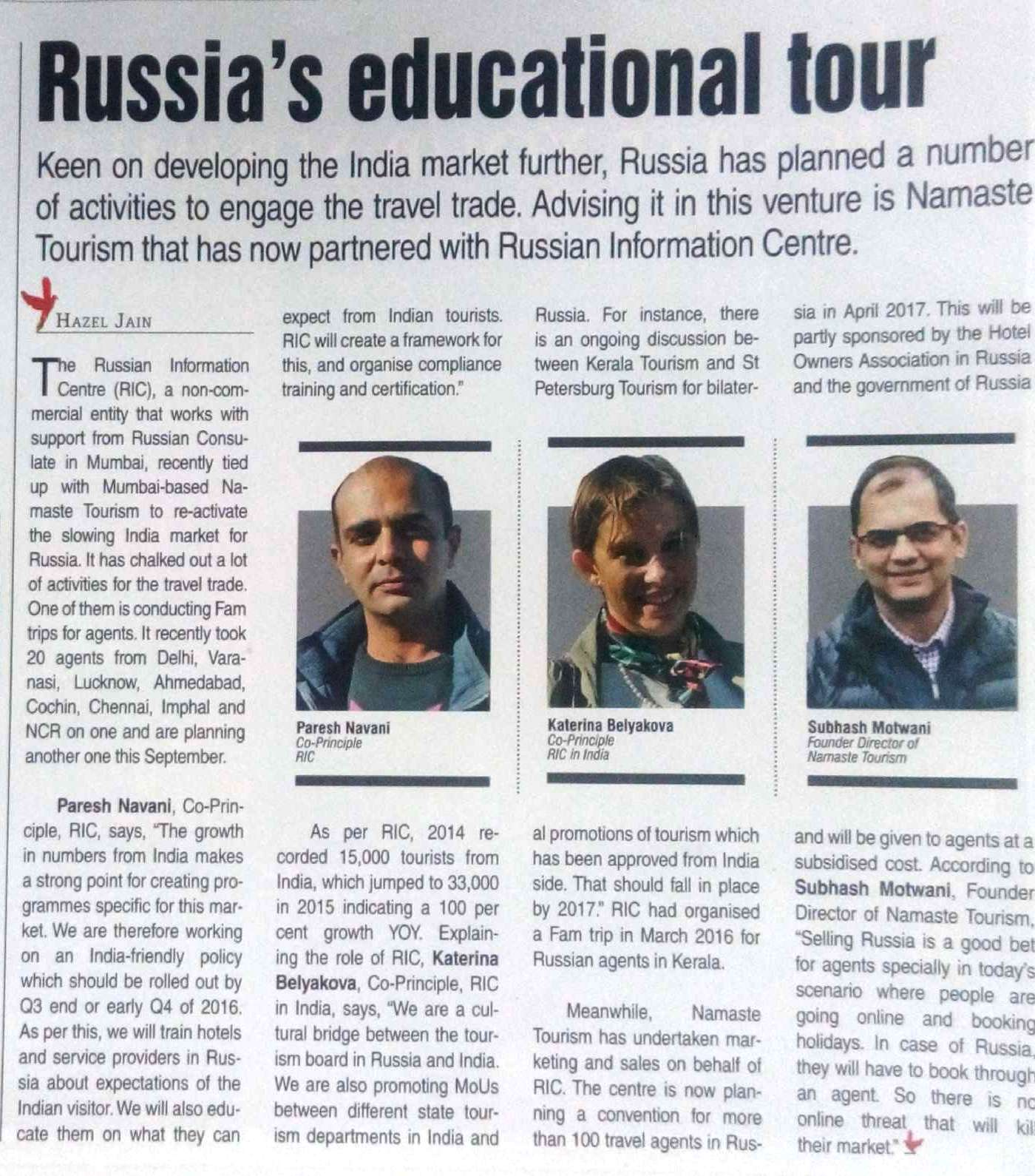 Russia Education Tour