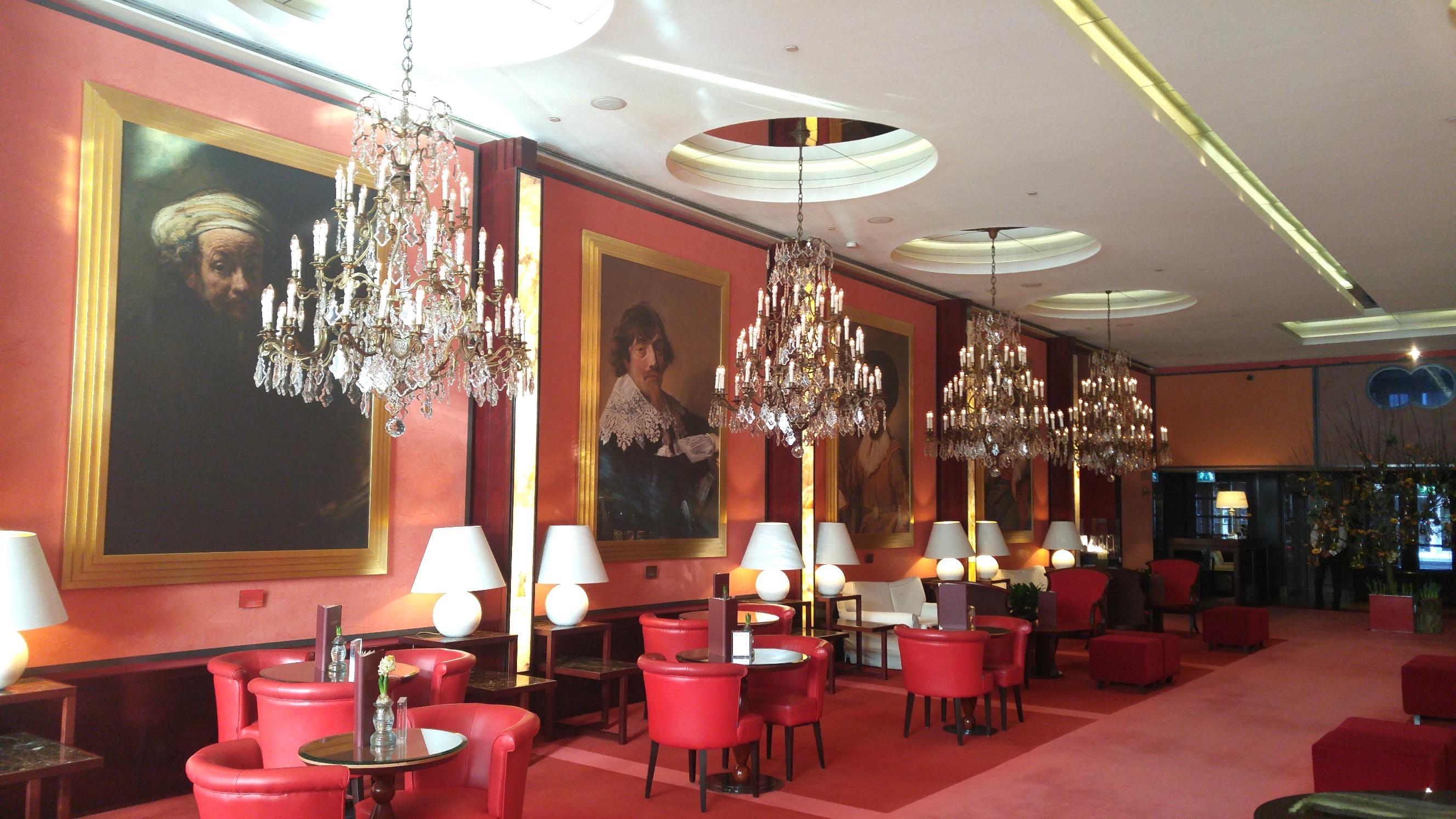 De L'Europe Amsterdam Lobby 2
