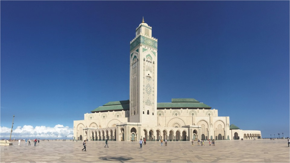 Hassan Mosque in Morocco