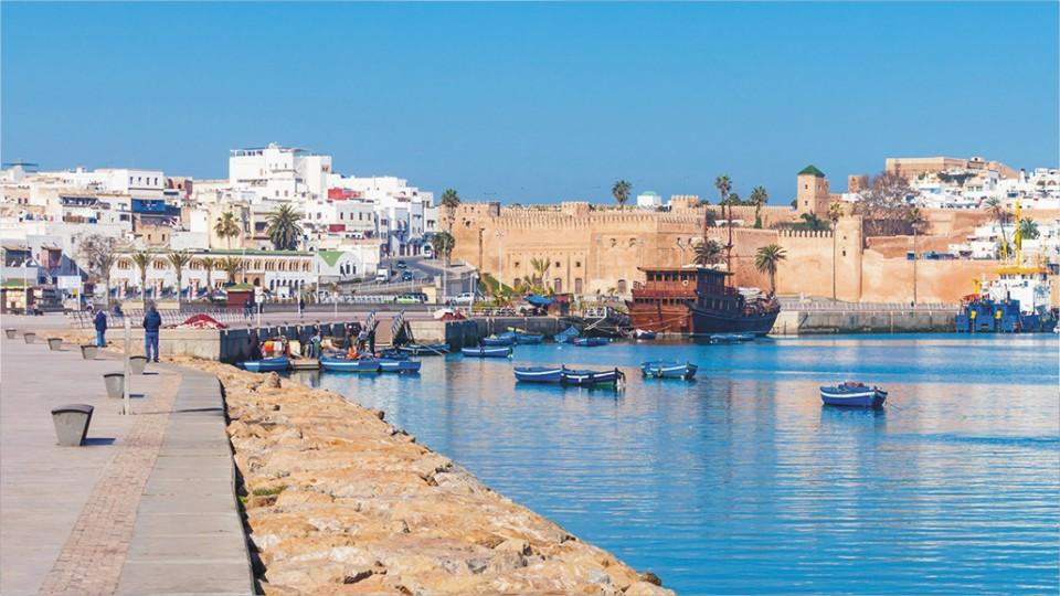 Kasbah des Oudaias in Morocco