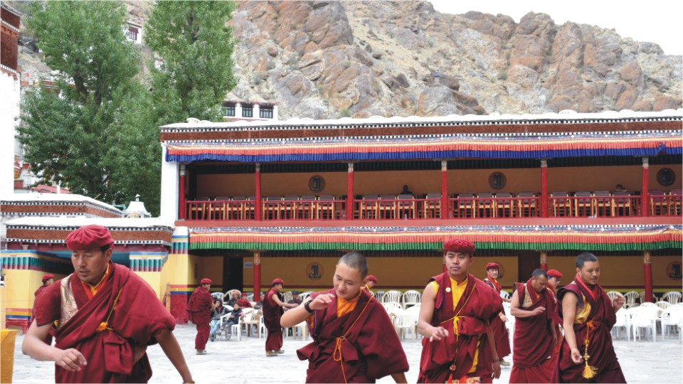 Celebrations at Hemis Monastery, Ladakh