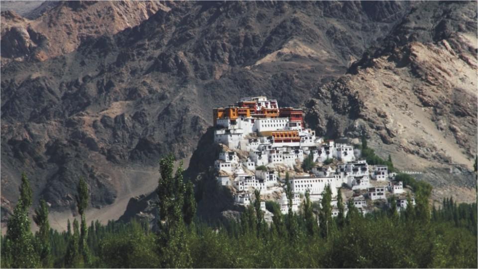 Thiksey monastery in Ladakh