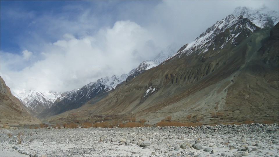 View of Siachen Glacier, Ladakh