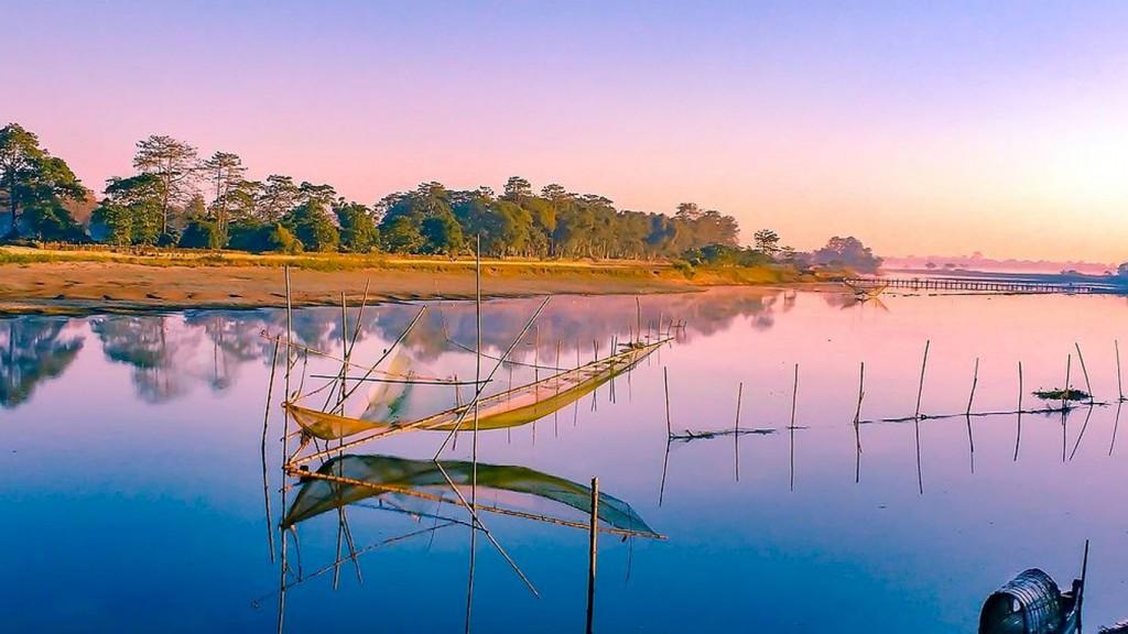 Majuli Island in Assam