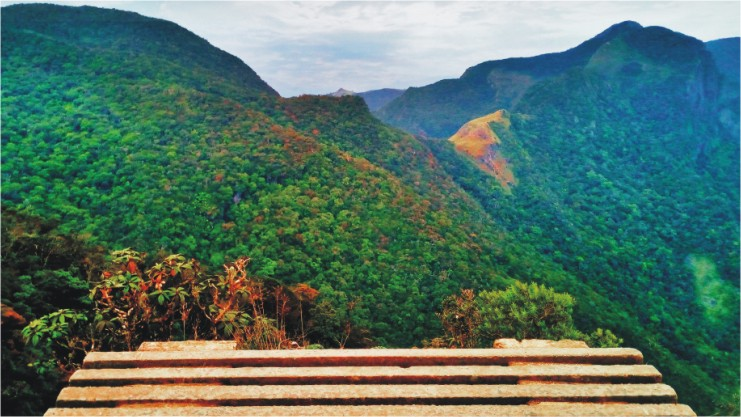 World's End - A view point in Sri Lanka