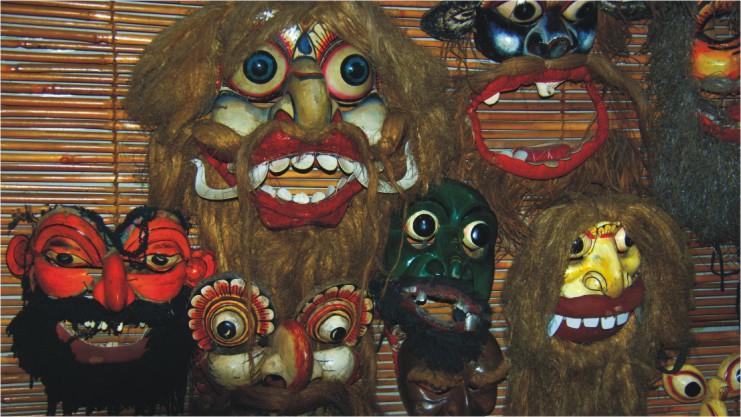 Ambalangoda devil mask