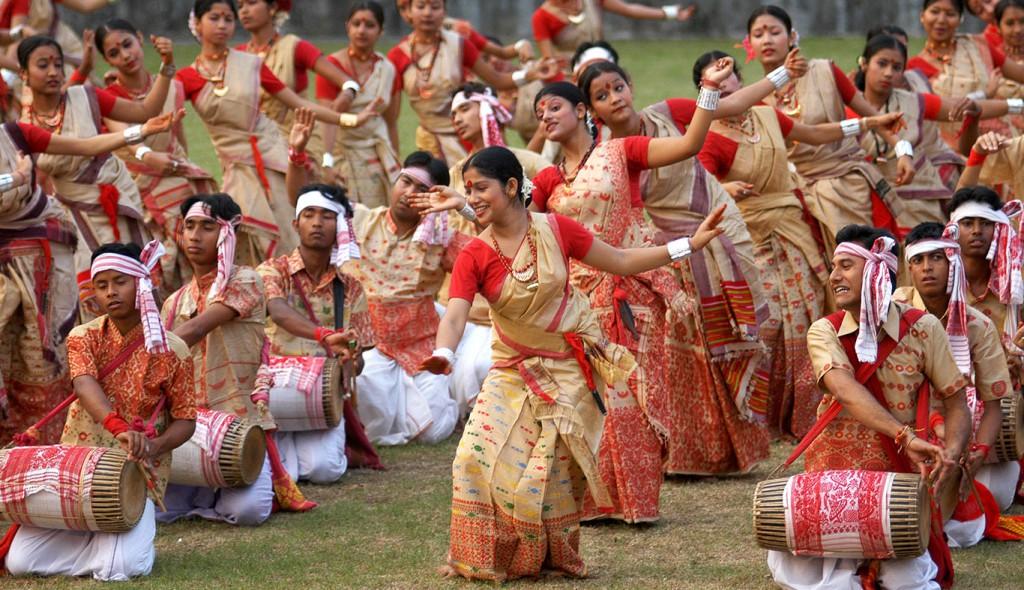 Cultural performance in Assam