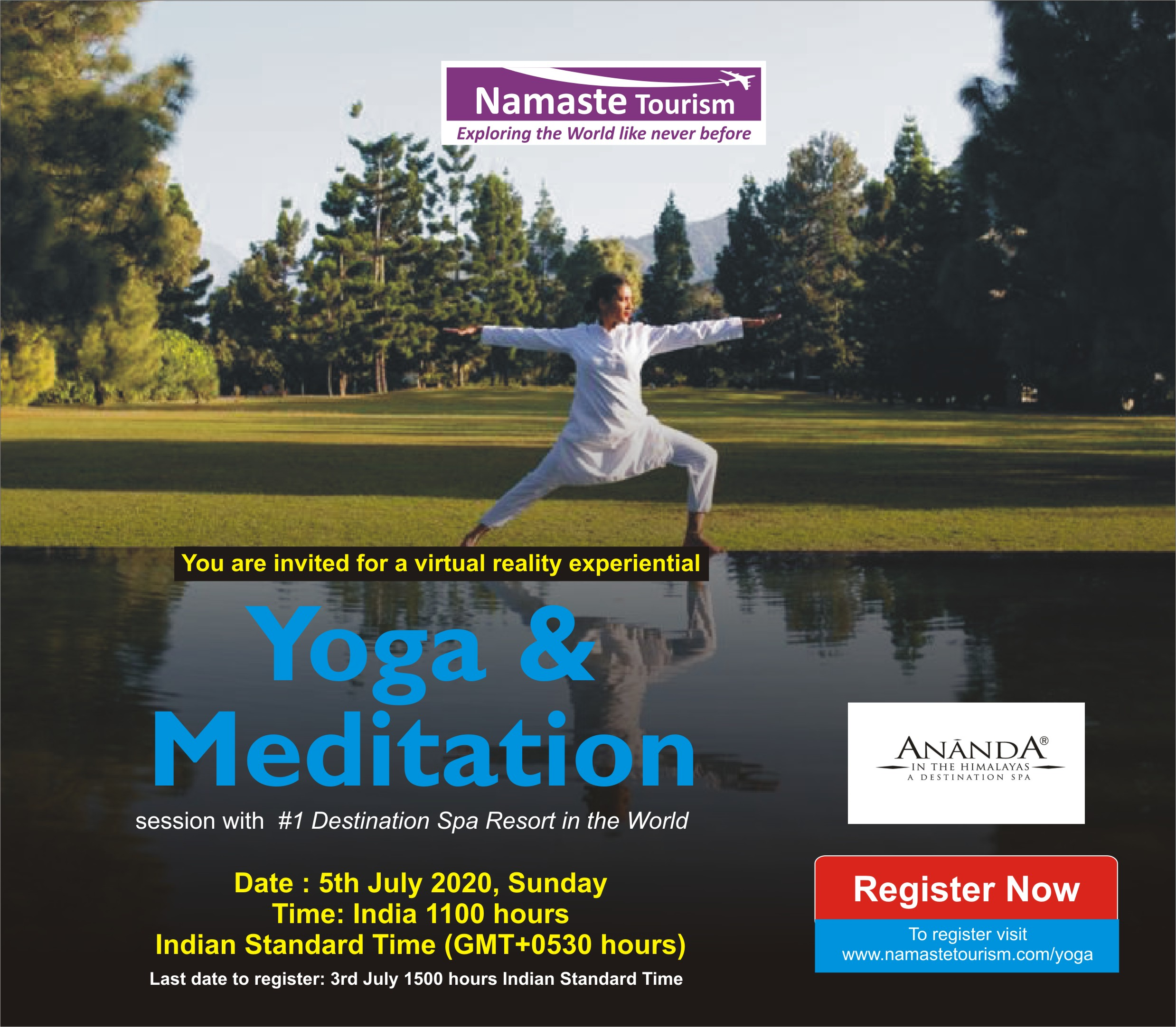 Free Yoga and Meditation Session